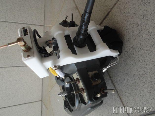 Turnigy 9X无线电发射机  3D模型  图3