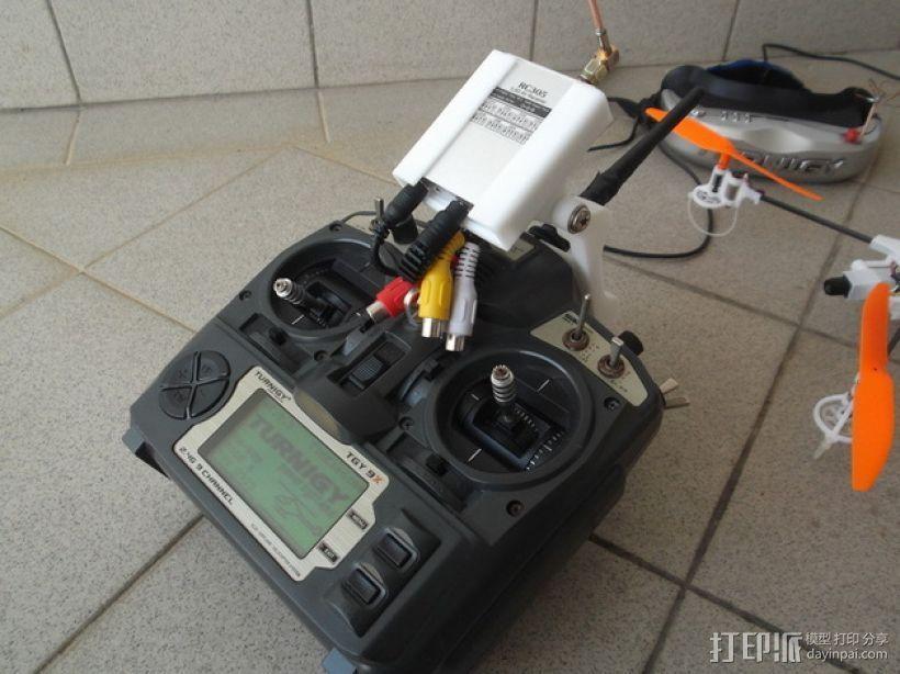 Turnigy 9X无线电发射机  3D模型  图1