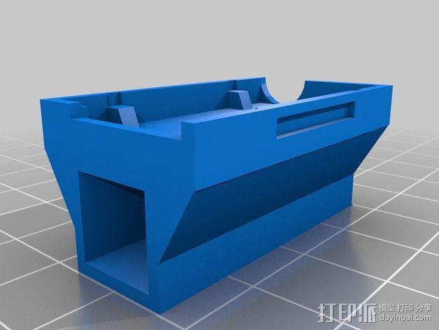 三轴飞行器零部件支架 3D模型  图3
