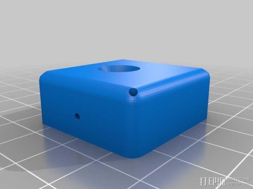 树莓派电路板支架 3D模型  图2