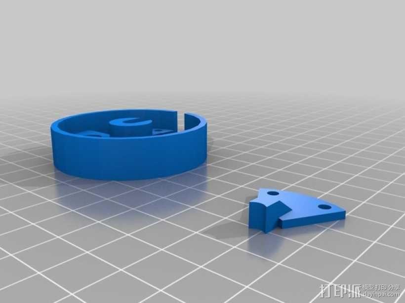 轮子 3D模型  图3