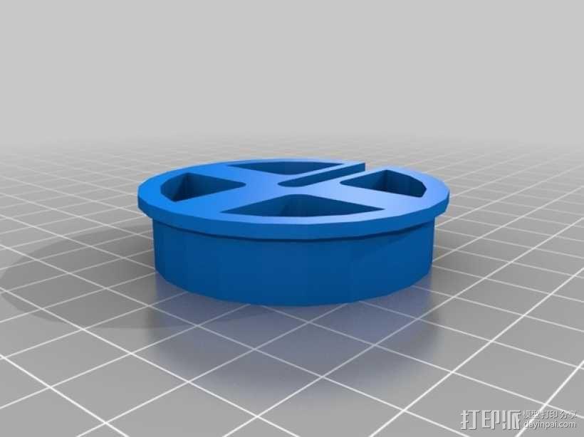 轮子 3D模型  图4