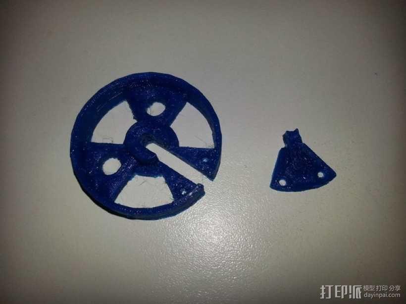 轮子 3D模型  图7