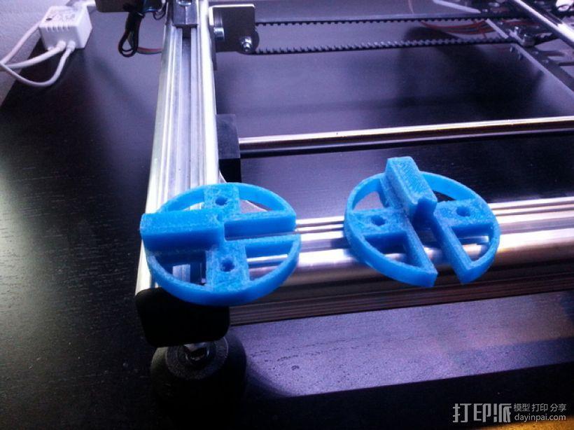 轮子 3D模型  图11
