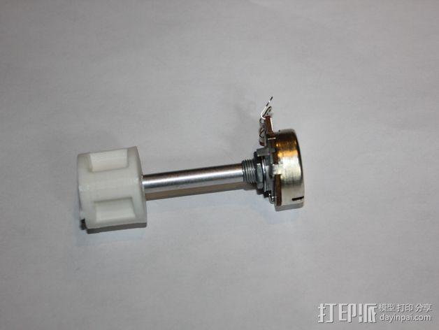 电位器旋钮 3D模型  图3
