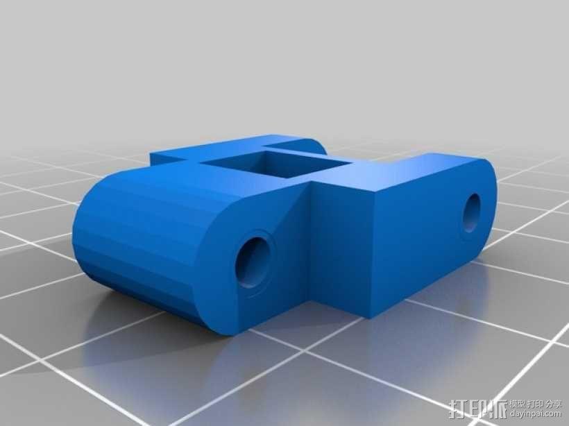 挖掘机履带 3D模型  图5