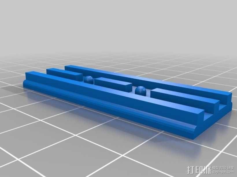 挖掘机履带 3D模型  图4