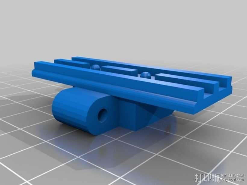 挖掘机履带 3D模型  图7