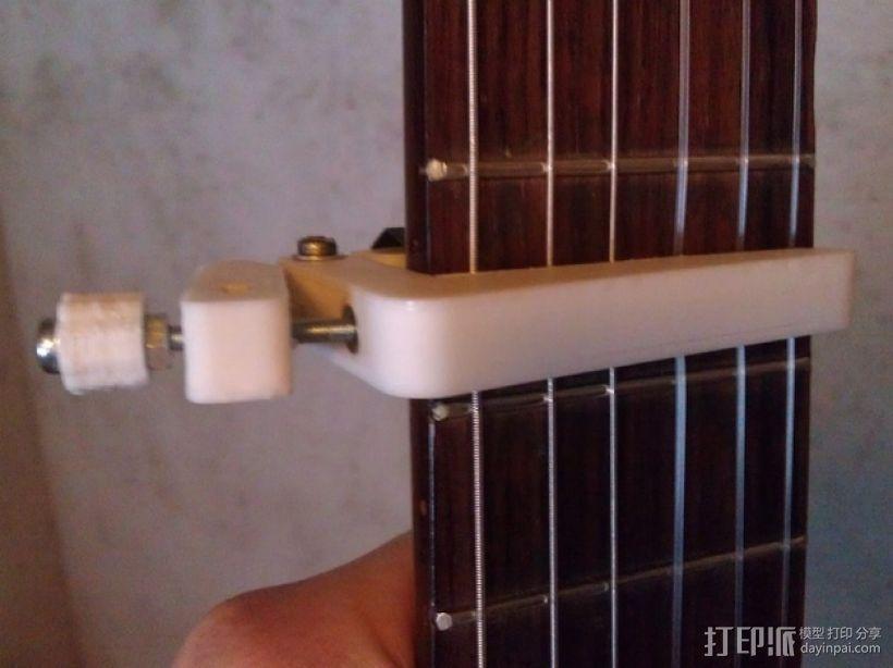 吉他变调夹 3D模型  图1