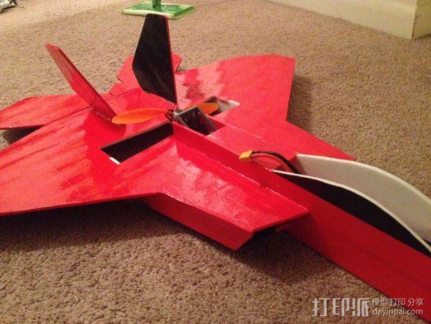 F22马达支架 3D模型  图3