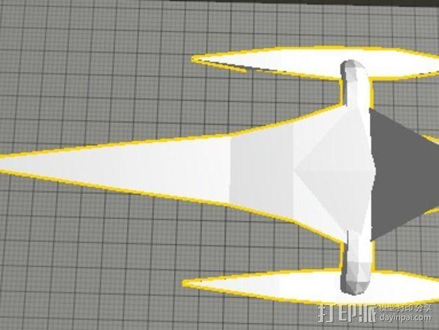 三体帆船 3D模型  图5