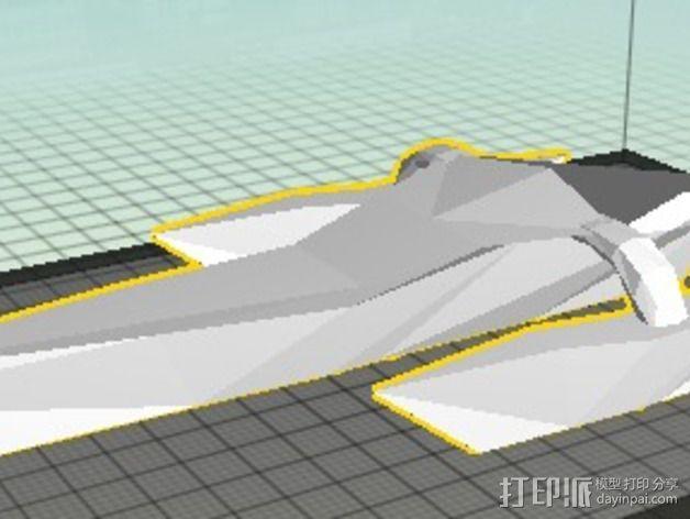 三体帆船 3D模型  图4