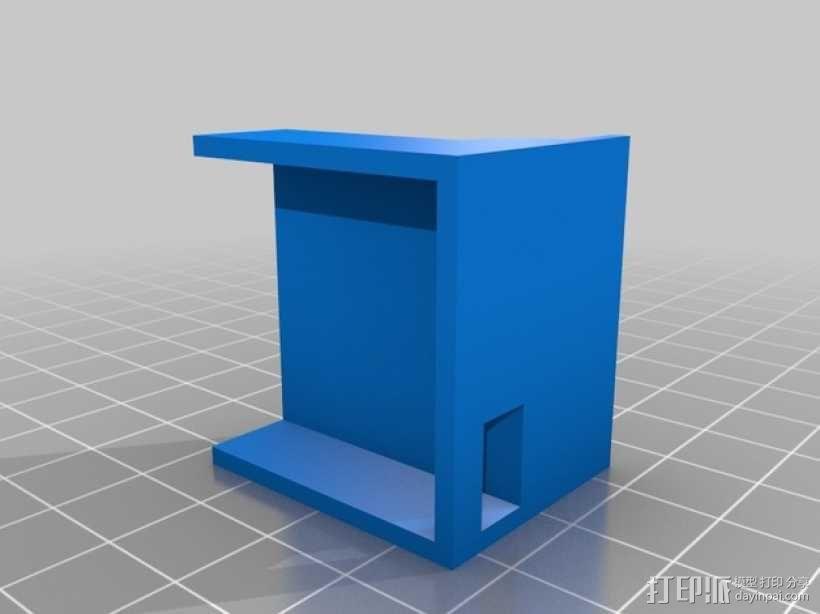 FPV相机支架 3D模型  图2
