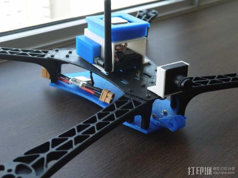 FPV相机支架 3D模型  图1