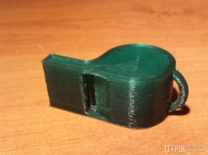 口哨 哨子 3D模型  图2