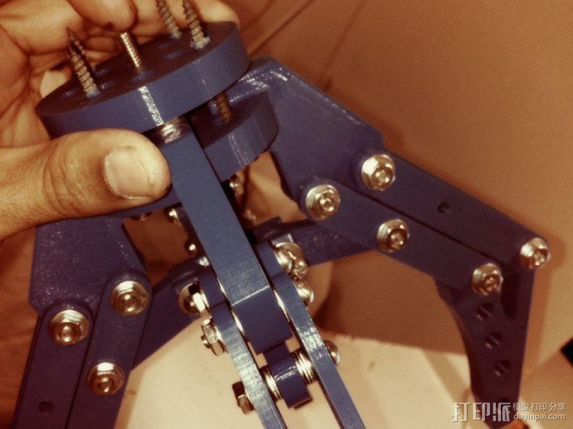 机器人机械爪 3D模型  图2
