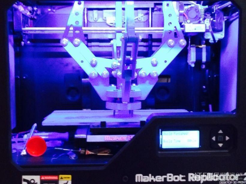机器人机械爪 3D模型  图3