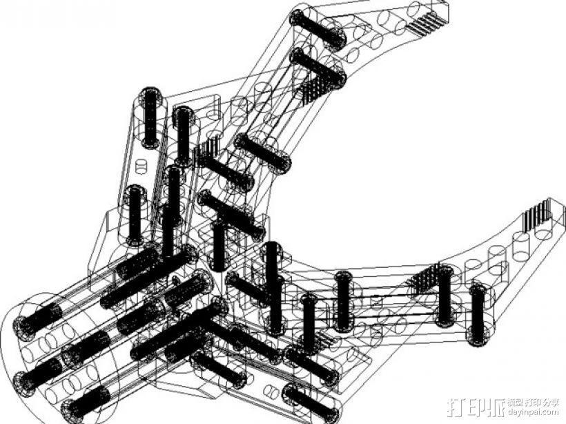 机器人机械爪 3D模型  图6