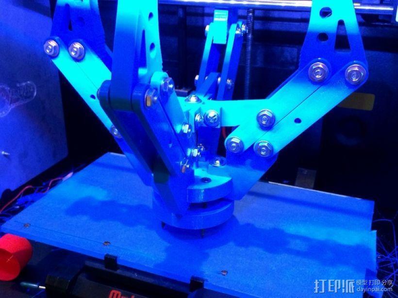 机器人机械爪 3D模型  图9