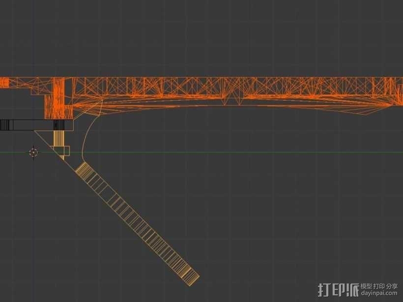 起落架 3D模型  图6