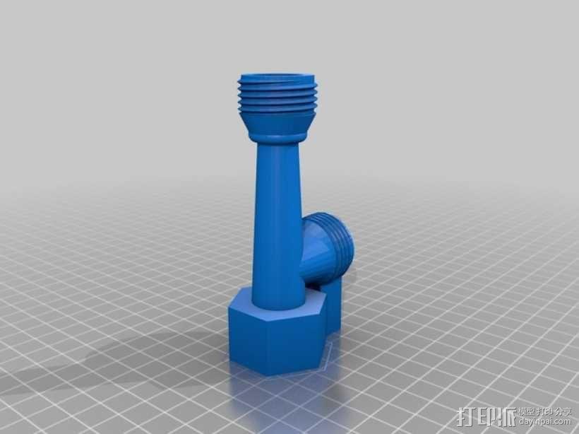 文丘里管 3D模型  图1
