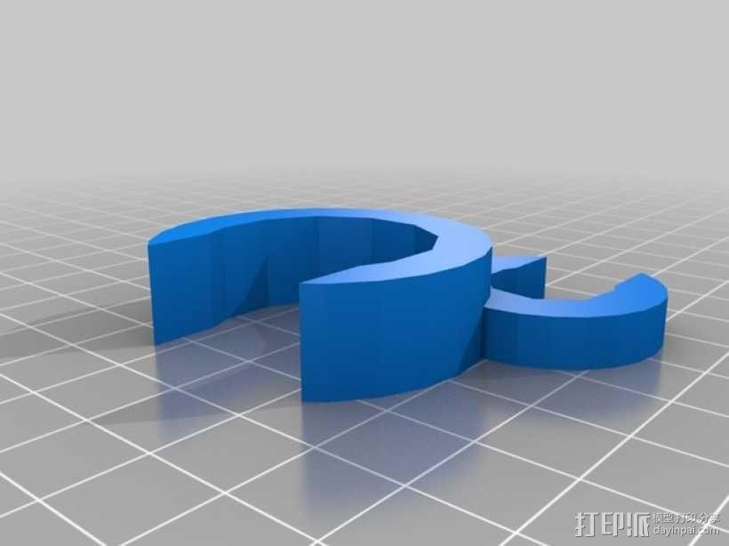 鼓槌支架 3D模型  图2