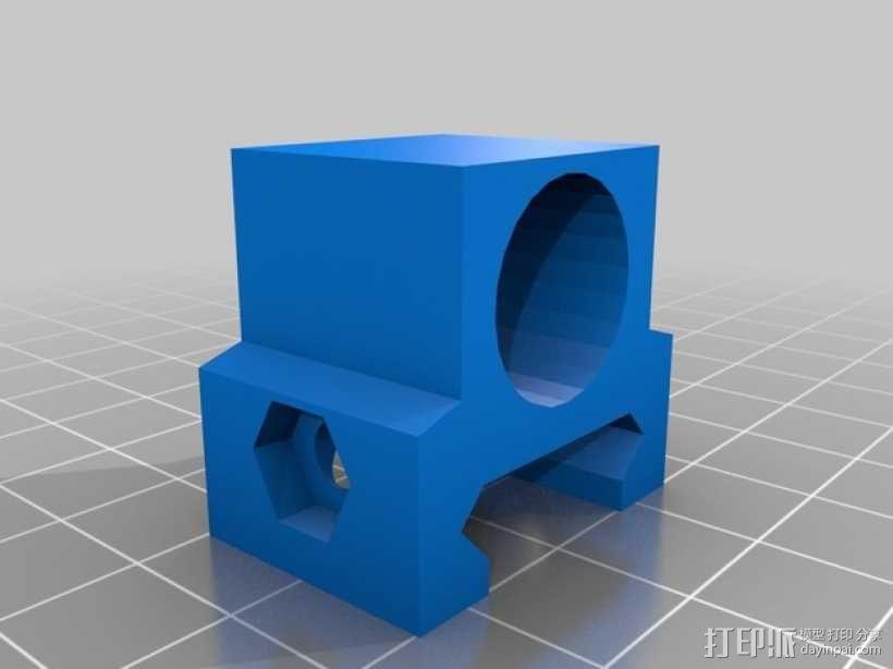 闪光灯架  3D模型  图1