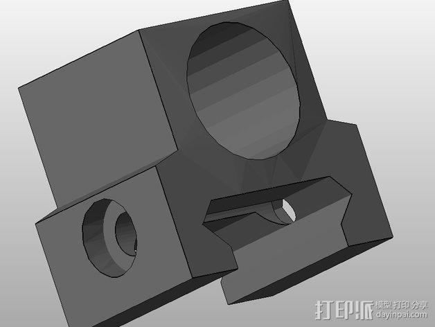闪光灯架  3D模型  图3