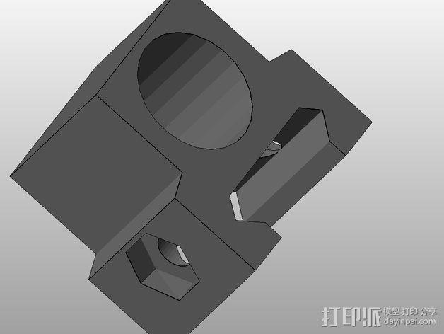 闪光灯架  3D模型  图2