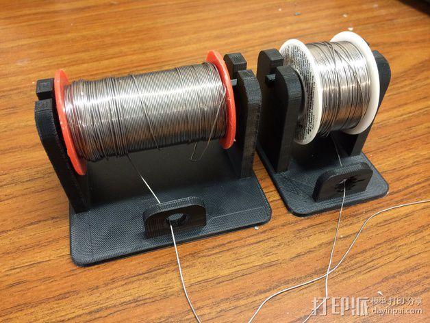 焊料支架 3D模型  图1