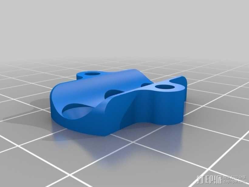 多轴飞行器 马达支架 3D模型  图3