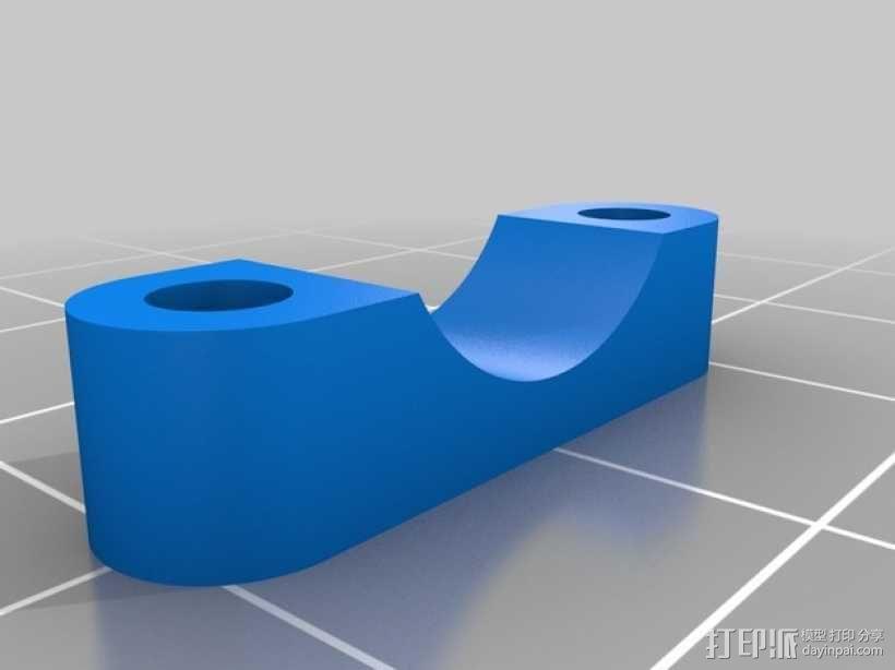 多轴飞行器 马达支架 3D模型  图2