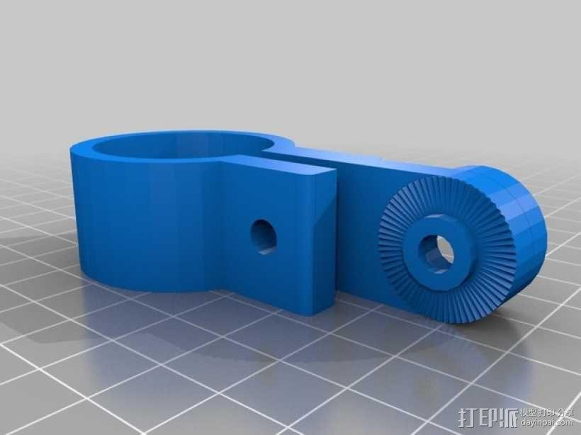 自行车座杆支架 3D模型  图6