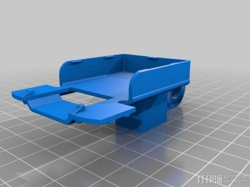 自行车座杆支架 3D模型  图5