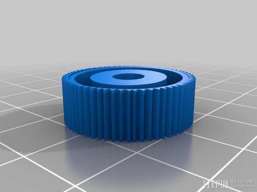 自行车座杆支架 3D模型  图7