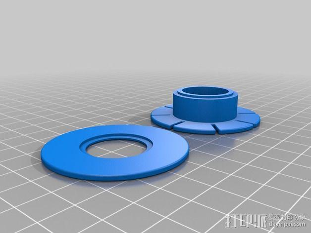 钓鱼线线轴 3D模型  图1