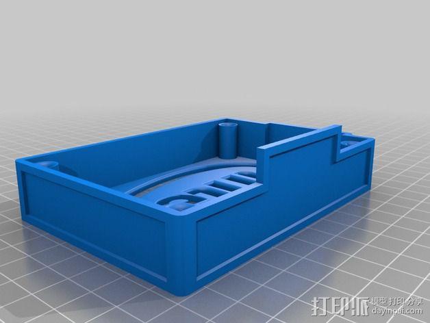 英特尔Galileo主板底座 3D模型  图5