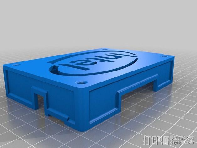 英特尔Galileo主板底座 3D模型  图4