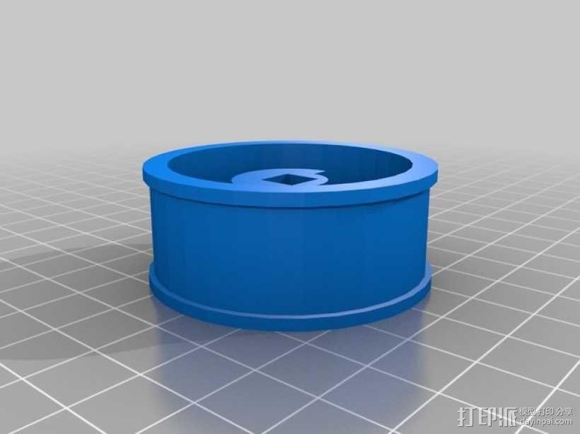定制化方向盘 3D模型  图2