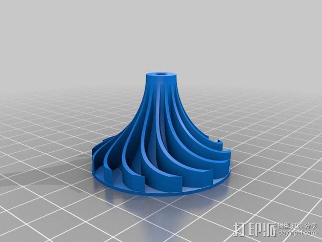 涡轮 3D模型  图2