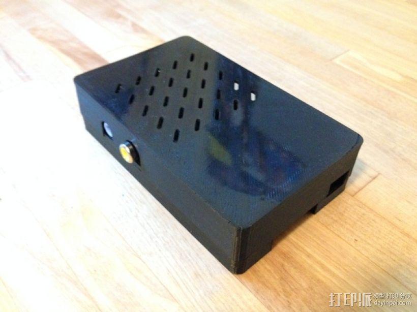 组装式树莓派外壳 3D模型  图1