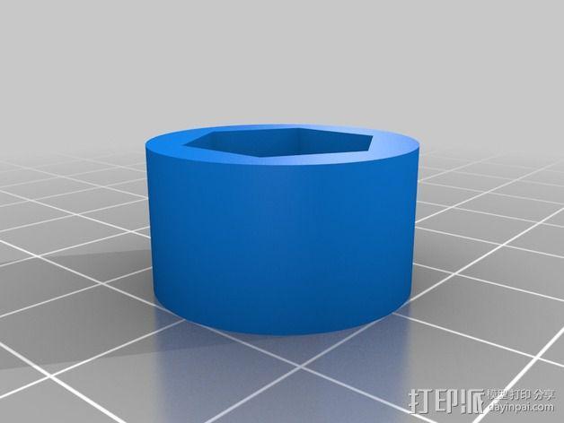 旋风分离器  3D模型  图16