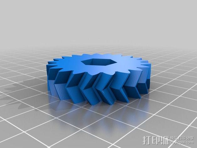 旋风分离器  3D模型  图25