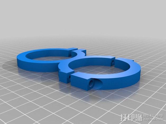 旋风分离器  3D模型  图28