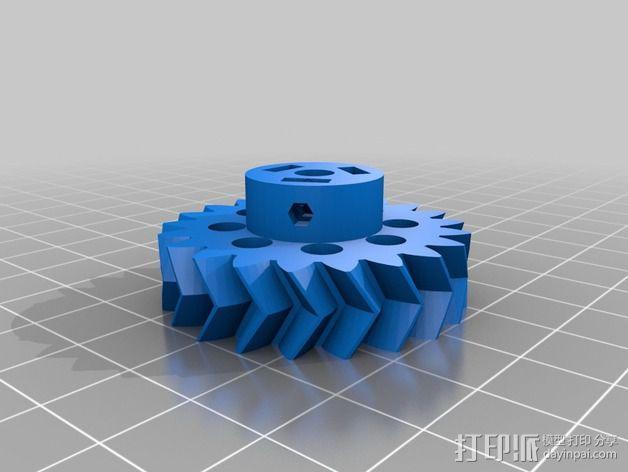旋风分离器  3D模型  图26