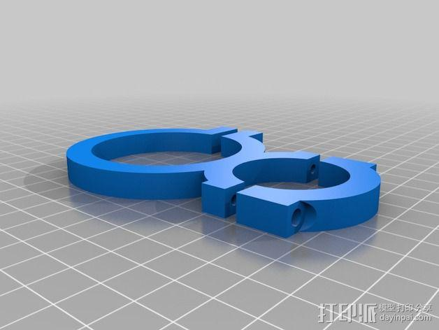 旋风分离器  3D模型  图29