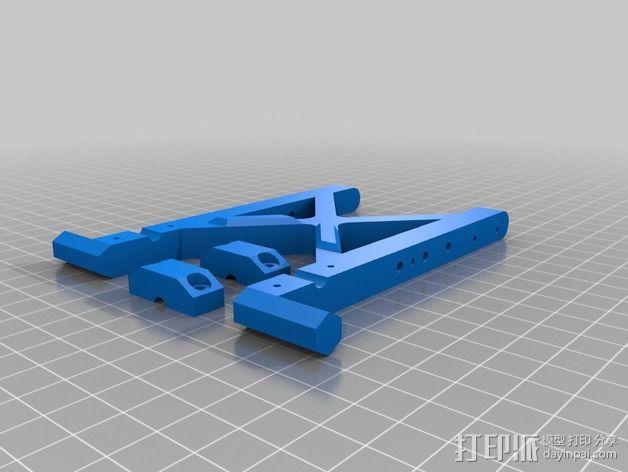 发射机底座 3D模型  图2