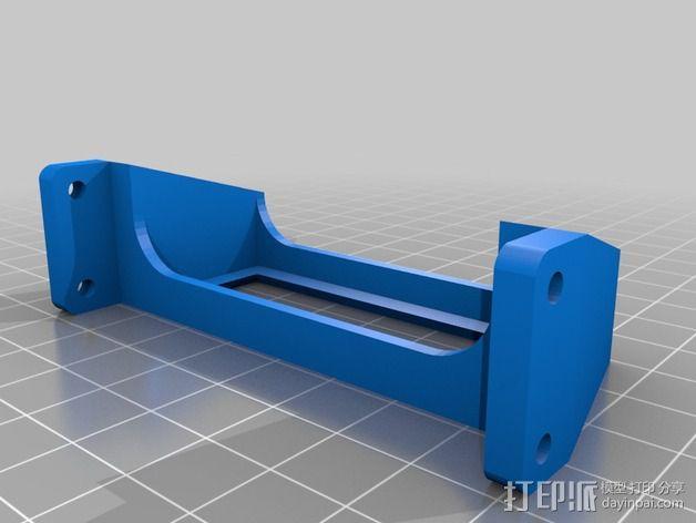 发射机底座 3D模型  图3