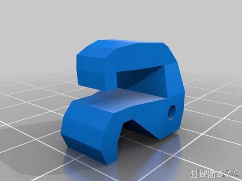 飞行器抓手型减震器 3D模型  图3