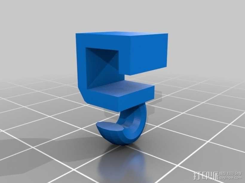 飞行器抓手型减震器 3D模型  图5